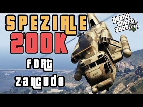GTA 5 CAZZEGGIO A FORT ZANCUDO (SPECIALE 200.000 Iscritti)