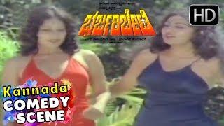 Ambarish and Shankar Nag Double Comedy   Bhari Bharjari Bete Movie   Kannada Comedy Scenes  Jayamala