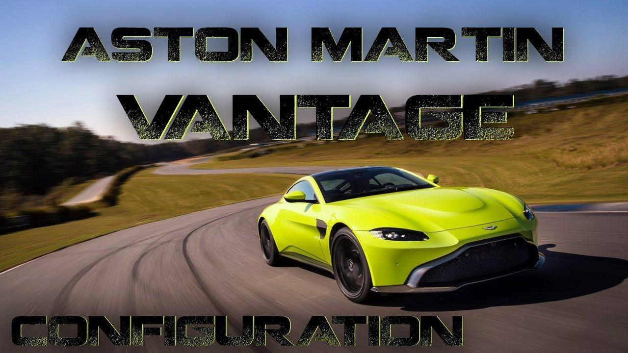 Brand New 2018 Aston Martin Vantage Customization Official Spec