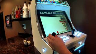 Jahova's New Arcade & Basement Bar Tour! Tinyarcade 75in1 Arcade Ultimate
