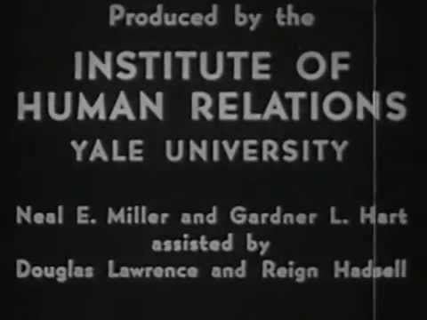 Motivation and Reward in Learning 1948 Yale University; Psychology Experiments