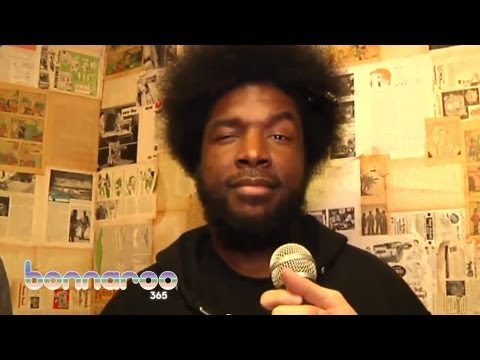 Official Bonnaroo Interview with Questlove and ItsTheReal   Bonnaroo365