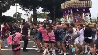 横浜 山下公園通り スパークリングパレード2017