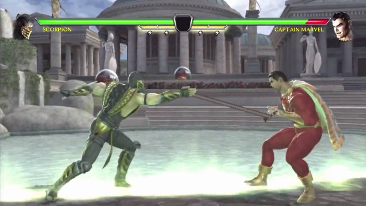 Mortal Kombat Vs Dc Universe Scorpion 60 Double Statue