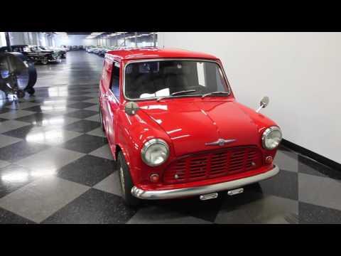 507 TPA 1966 Morris Mini Panel Van