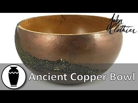 Ancient Copper Bowl