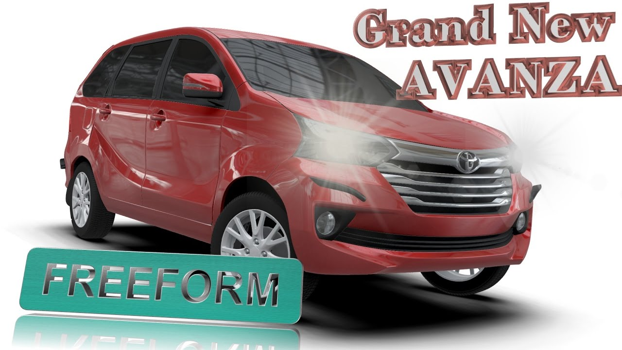 bodykit grand new avanza 2016 grill chrome aerokitz aksesoris modifikasi toyota freeform style youtube