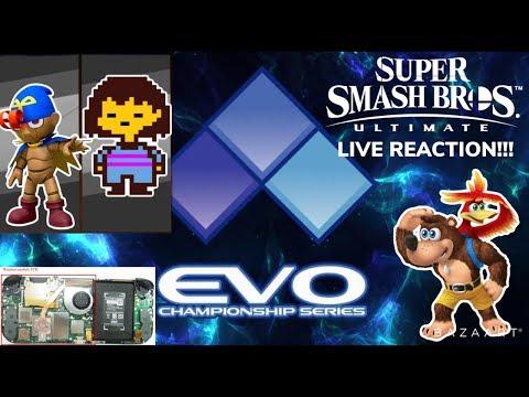 EVO 2019 Smash Ultimate DLC Fighter Reveal ? - Inside The Switch Lite -  Banjo-Kazooie Release Date