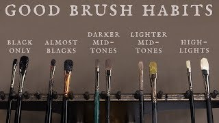 Good Brush Habits and How to Load Your Brush with Paint
