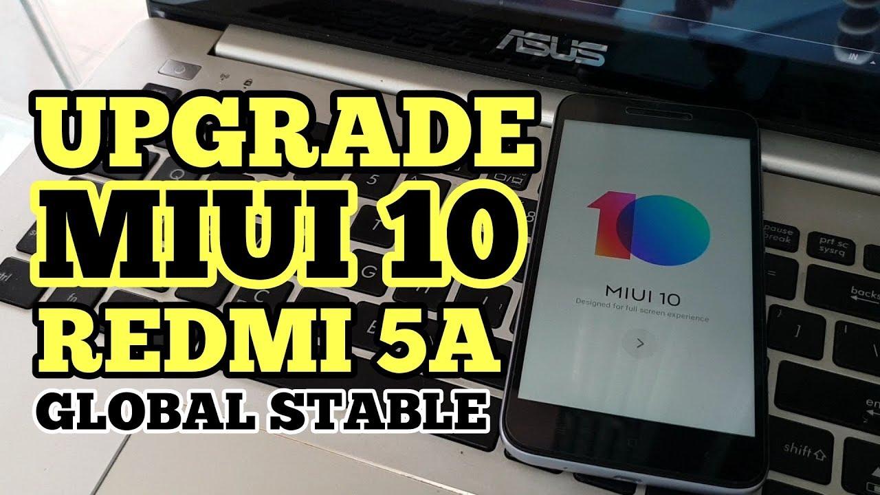 Flash Upgrade MIUI 10 Redmi 5a (RIVA) Tanpa Unlock Bootloader // Test Point  to enter EDL