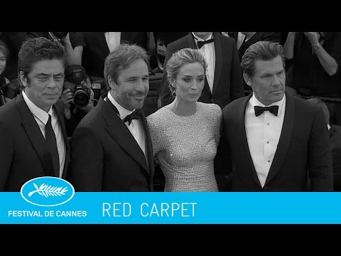 SICARIO -red carpet- (en) Cannes 2015