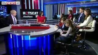 London Mayor Boris Johnson Draws Blank Over Football Question