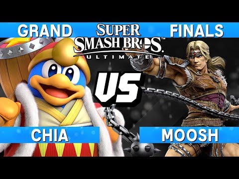Smash Ultimate Tournament Grand Finals - Chia (King Dedede / ROB) vs Moosh (Simon Belmont) - S@LT180 thumbnail