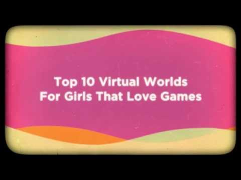 What are the top 10 virtual worlds?