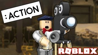 Making My Own ROBLOX MOVIE! - Roblox Action