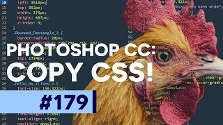 Convert Shapes and Text Effects to CSS in Photoshop