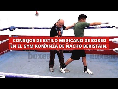Consejos de estilo mexicano de boxeo en el GYM ROMANZA de Nacho Beristáin