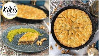 Baklava für Anfänger | Baklawa Rezept mit Walnüssen | Backen für Eid Bayram Zuckerfest | Ramadan #14