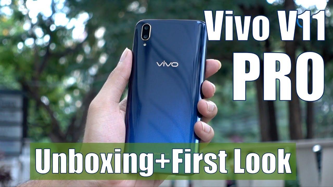 Vivo V11 Pro With In-Display Fingerprint Scanning, Halo