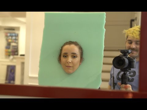 Bootleg Kev & DJ Hed - Girl Creates DIY Toothbrush As Halloween Costume