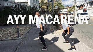 AYY MACARENA 🍑 TYGA (Coreografía by Twins Dance)