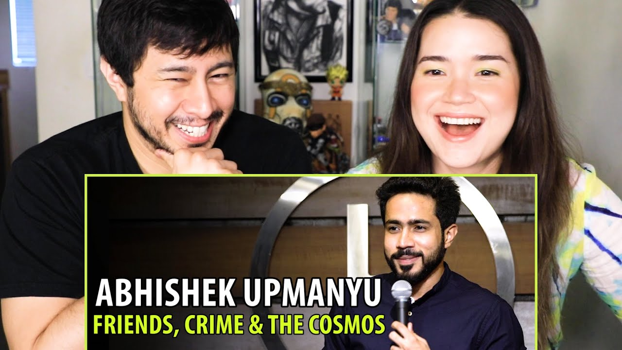 Download ABHISHEK UPMANYU | Friends, Crime & The Cosmos | Stand Up Comedy | Reaction | Jaby Koay