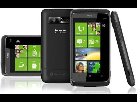 HTC 7 Trophy Windows Mobile smartphone
