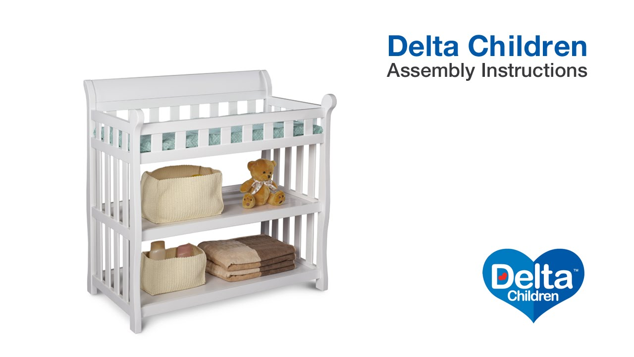 Delta Children Eclipse Changing Table Embly Video