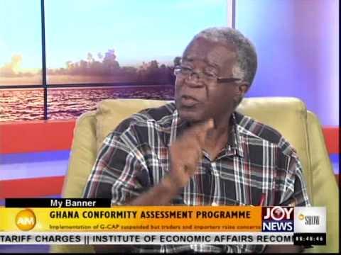 Ghana Conformity Assessment Program - My Banner (1-10-14)