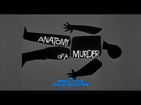 Saul Bass: Anatomy of a Murder (1959) title sequence