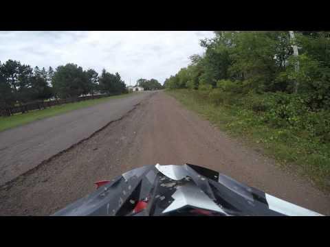 Atv ride in Hurley wi