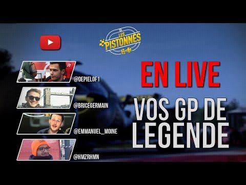 [LIVE] LES GP DE LÉGENDES ! Les Pistonnés F1 du confinement