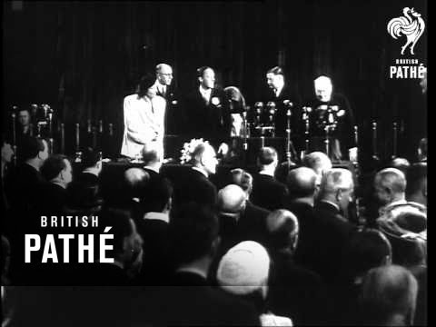 European Union Conference At The Hague AKA European Union Conf At  Hague (1948)