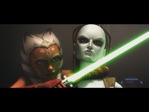 Star Wars: The Clone Wars - Ahsoka & Plo Koon vs. Aurra Sing & Boba Fett [1080p] from YouTube · Duration:  2 minutes 12 seconds