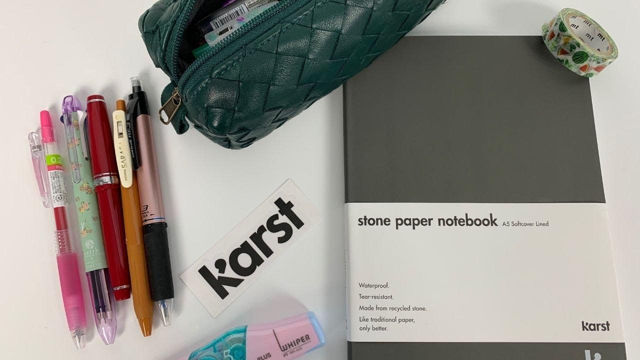 Download Karst Stone Paper Notebook Pen Tests