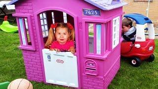 Видео для детей ЛУЧШАЯ Детская Комната Funny Outdoor Playground for kids Children's Amusement Park