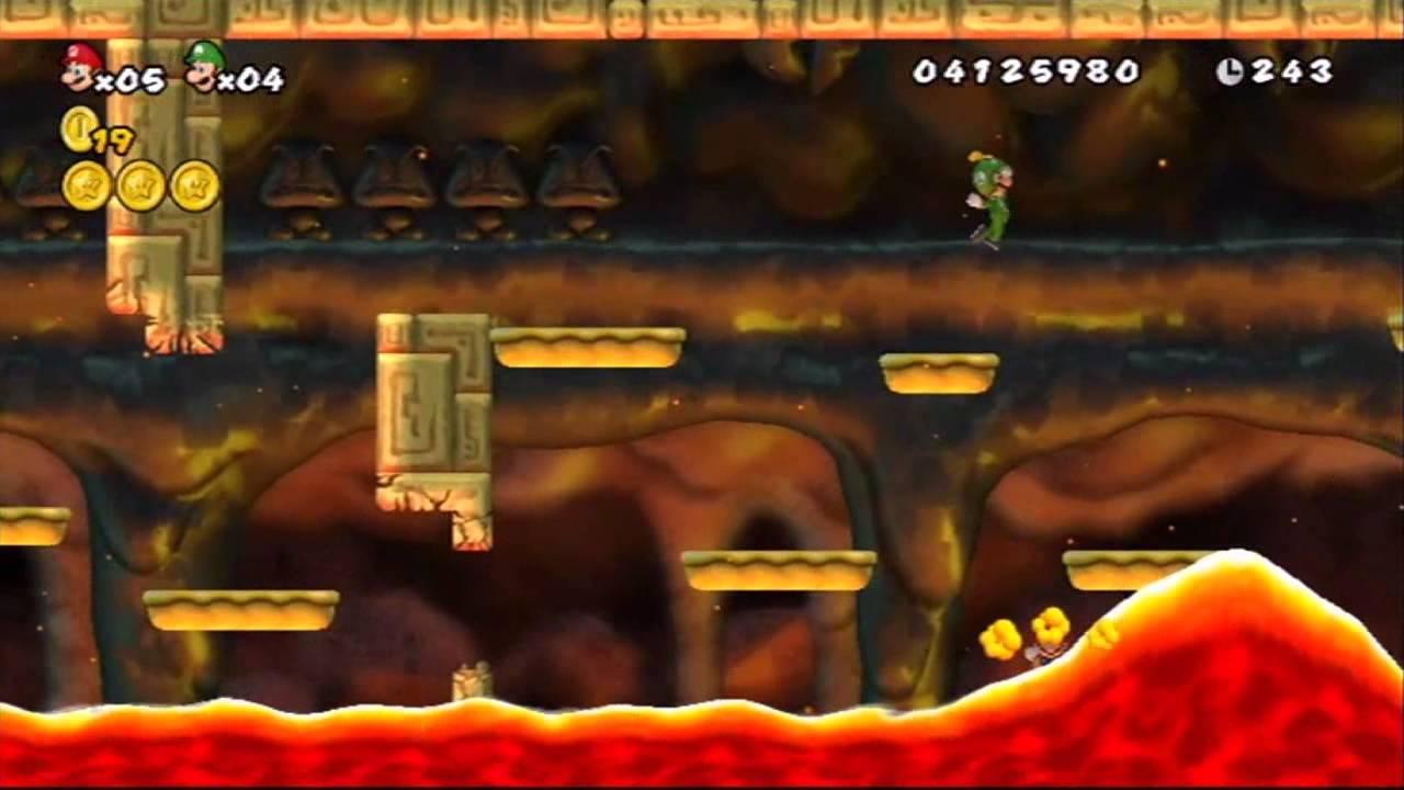 Coloriage Chateau De Bowser.New Super Mario Bros Wii Monde 8 Niveau 8 Chateau De Bowser