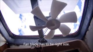 camco rv replacement vent cover fan install