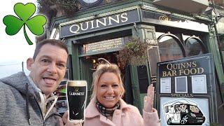 Straight To The Pub To Try The Irish Guinness