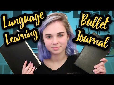 Bullet Journaling for Language Learning | VEDF #19