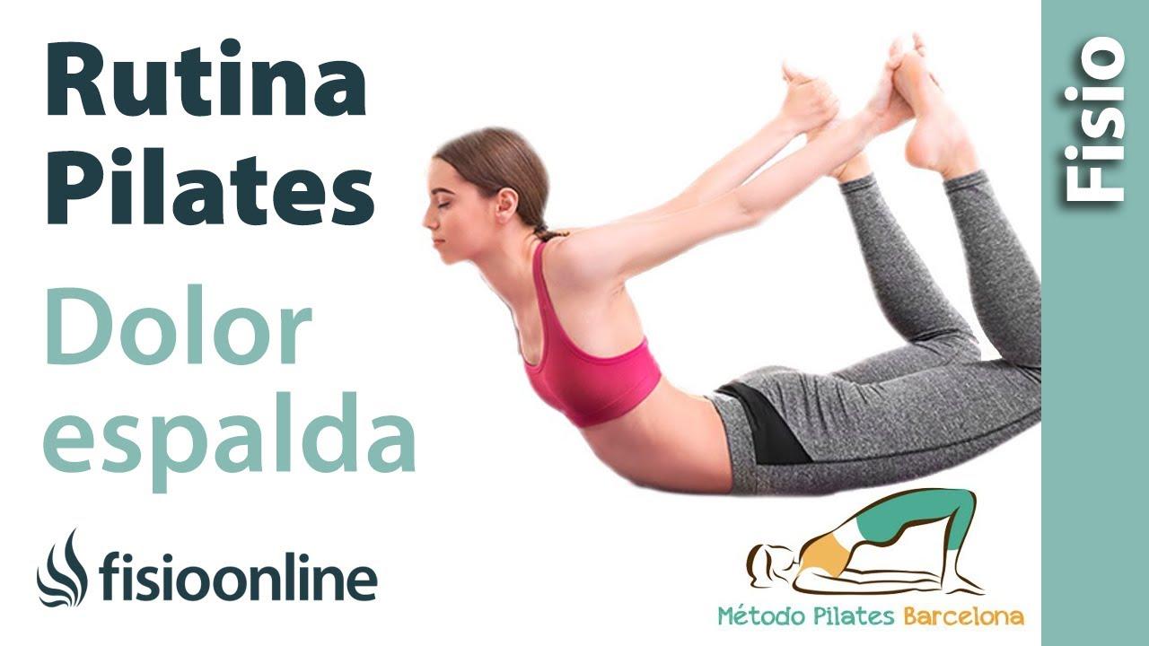 Para el dolor de espalda ejercicios