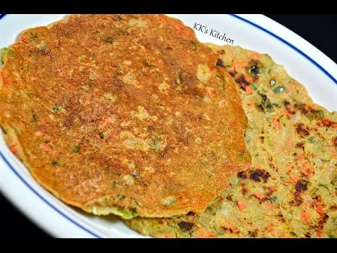Oats Uthappam I Spicy Oats Pancake | Healthy Breakfast Recipe | Instant Oats Uttapam