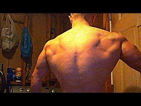 Training Vlog: Killer Home Back Workout!! Lots of Sets and Reps.