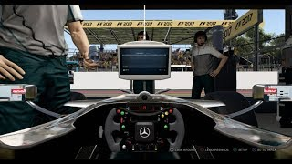 F1 2017 Classic Car Racing League Practice Round 9 | McLaren MP4-23 at Brazil