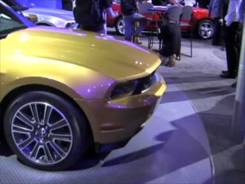 L.A. Auto Show Ford Mustang Preview (VANITY FAIR)
