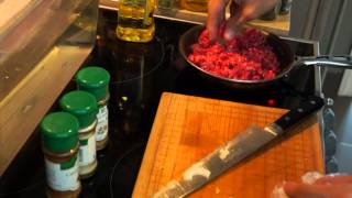 Grain-Free Healthy Pepper Shelled Beef Taco