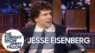Jesse Eisenberg Unveils His Limited Edition Action Figure