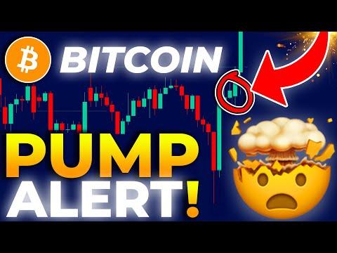 *BIG PUMP ALERT* On BITCOIN + Price TARGET!!!!! BITCOIN Price Prediction 2021 // Bitcoin News Today
