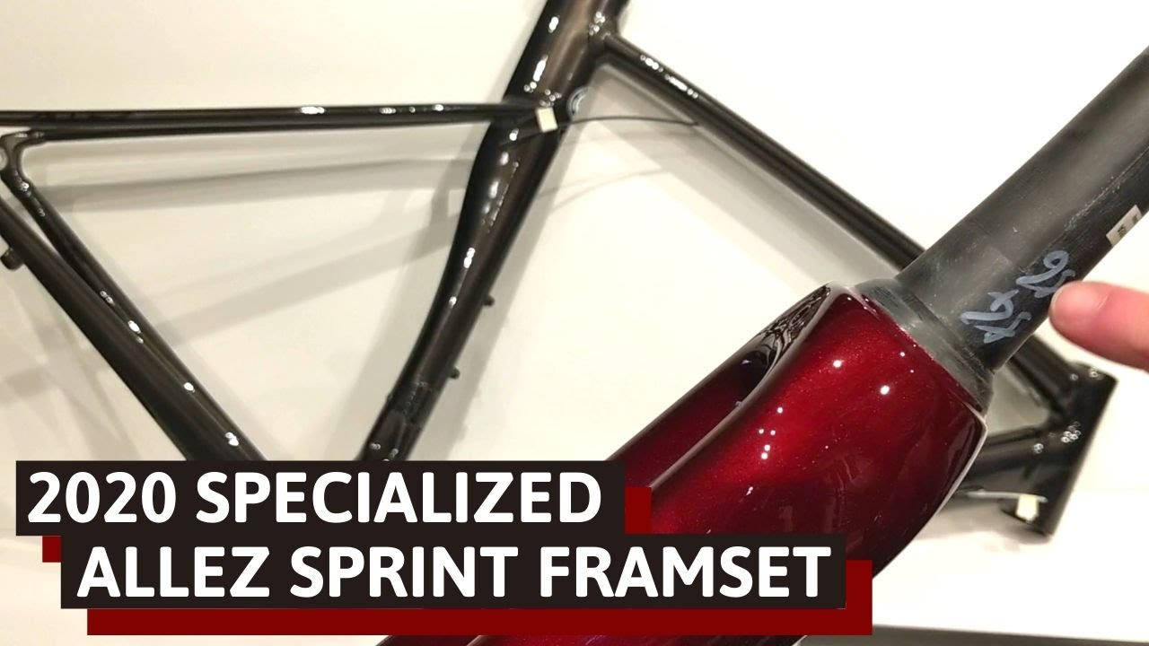 Aluminum Rocketship - Specialized Allez Sprint Frameset Review of Features and Weight