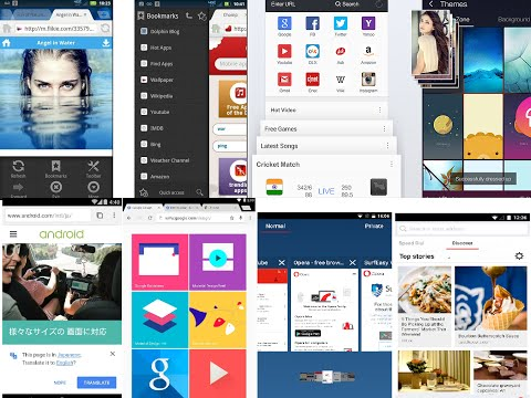 Top 10 Free Browser For Android Phone & Tablet